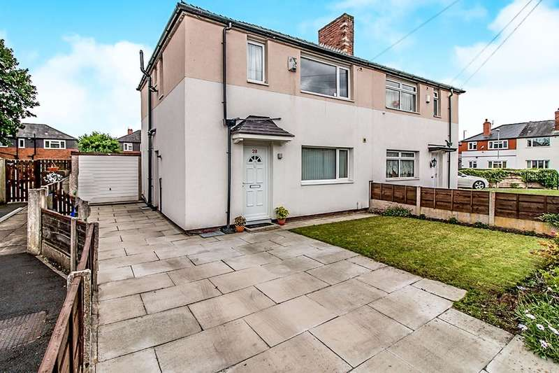3 Bedrooms Semi Detached House for sale in Wrenbury Avenue, Withington , Manchester, M20