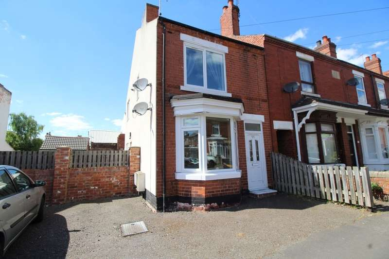 2 Bedrooms Terraced House for sale in Elms Road, Worksop, S80