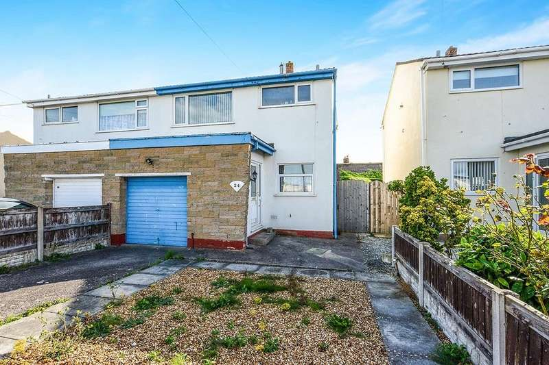 3 Bedrooms Semi Detached House for sale in Towyn Road, Abergele, LL22