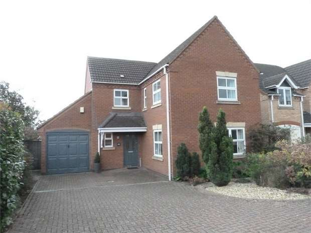 4 Bedrooms Detached House for sale in Lutterworth