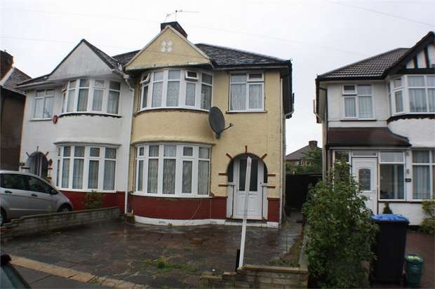 3 Bedrooms Semi Detached House for sale in Sandhurst Road, KINGSBURY, LONDON