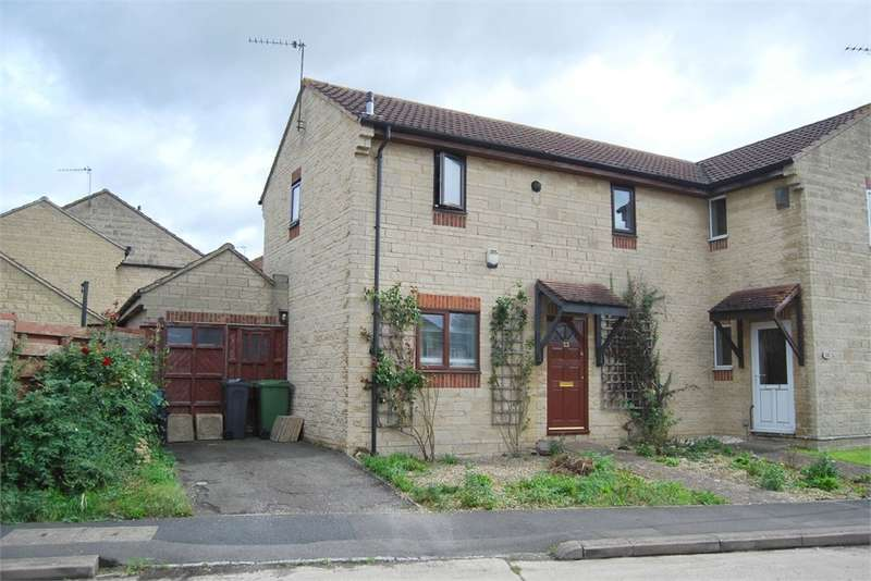 3 Bedrooms Semi Detached House for sale in Osprey Drive, Stonehouse, Gloucestershire