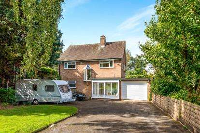 4 Bedrooms Detached House for sale in Knowle Road, Weeping Cross, Stafford, Staffordshire