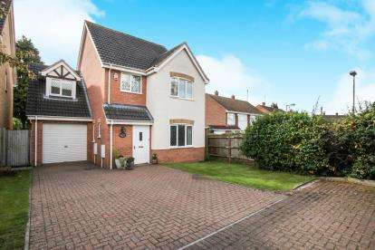 4 Bedrooms Detached House for sale in Linacres, Luton, Bedfordshire, Leagrave