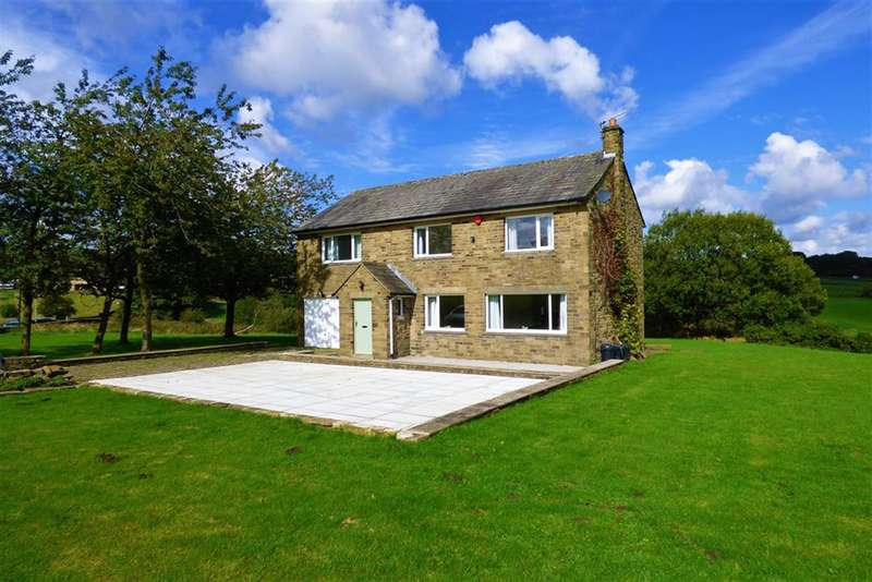 5 Bedrooms Detached House for sale in West Shaw, Oxenhope