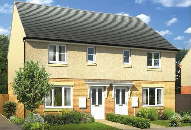 3 Bedrooms Terraced House for sale in plot 97, GlassfordRoad, Strathaven, ML10 6LL