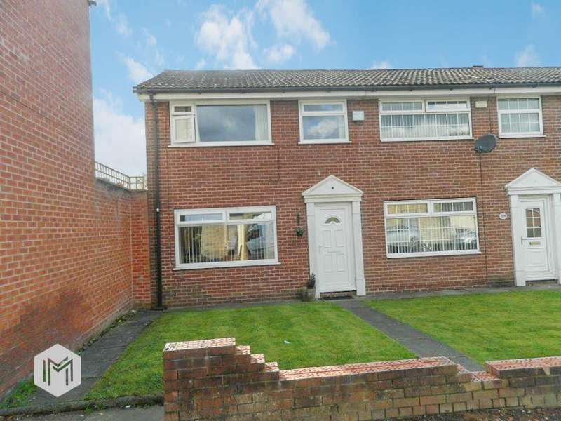 3 Bedrooms End Of Terrace House for sale in Ainsworth Road, Radcliffe, Manchester, M26