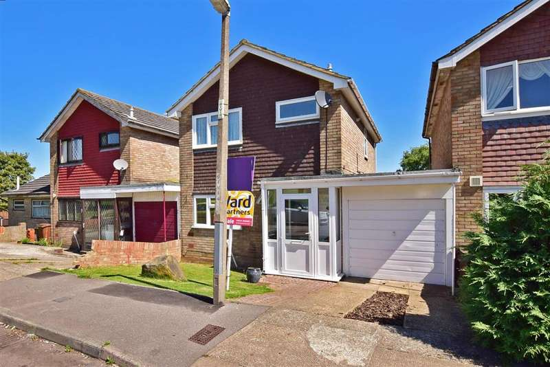3 Bedrooms Link Detached House for sale in Brindle Way, Lords Wood, Chatham, Kent