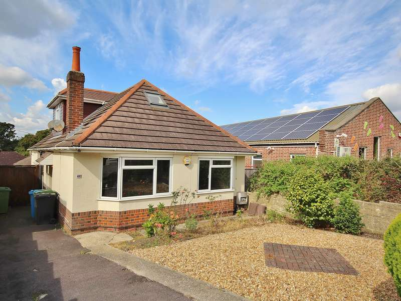 4 Bedrooms Chalet House for sale in Oakdale Road, Oakdale, Poole, BH15
