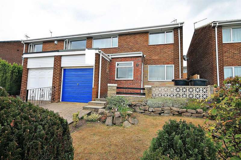 3 Bedrooms Semi Detached House for sale in Wooley Drive, Ushaw Moor, Durham