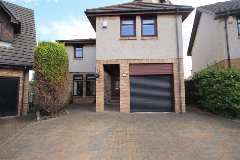 4 Bedrooms Detached House for sale in Staig Wynd, Motherwell