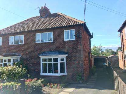 3 Bedrooms Semi Detached House for sale in Linden Road, Great Ayton, North Yorkshire