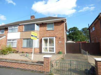 3 Bedrooms Semi Detached House for sale in Avondale Road, Wigston, Leicester, Leicestershire