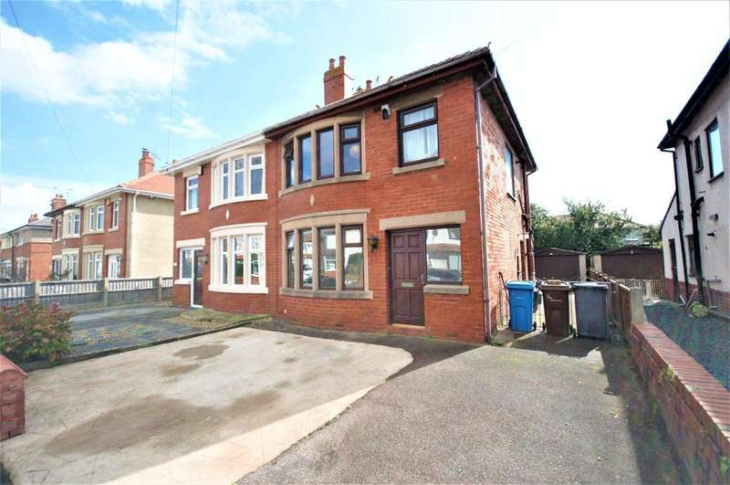 3 Bedrooms Semi Detached House for sale in Blundell Road, St Annes, Lytham St Annes, Lancashire, FY8 3AG