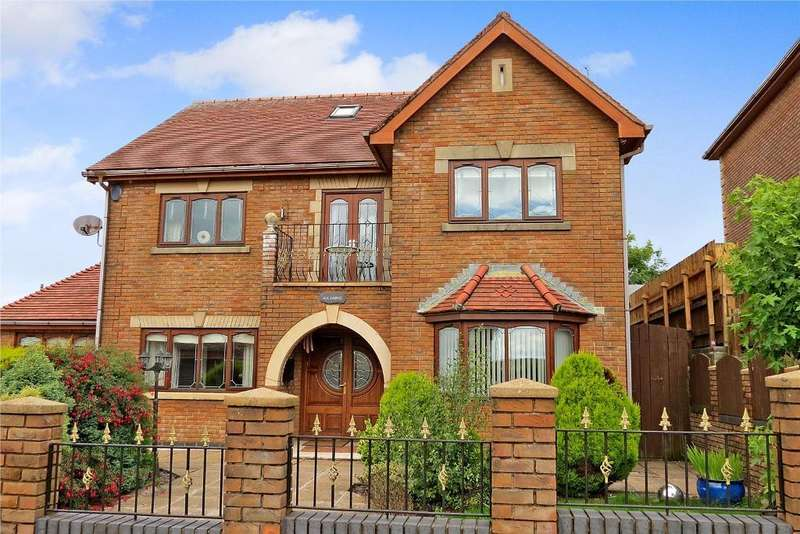 6 Bedrooms Detached House for sale in Clos-Bryn-Brith, Tredegar, NP22 3BG