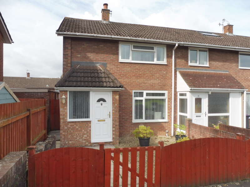 2 Bedrooms End Of Terrace House for sale in Rumney Walk, Llanyravon, Cwmbran