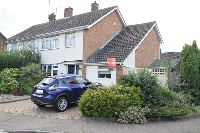4 Bedrooms Semi Detached House for sale in Spalding Way, Great Baddow, Chelmsford