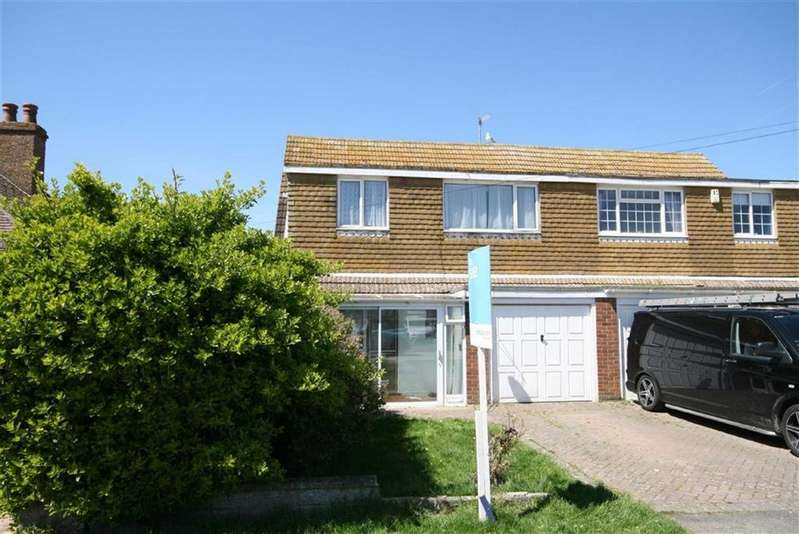 3 Bedrooms Semi Detached House for sale in Vernon Avenue, PEACEHAVEN