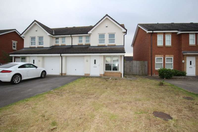 3 Bedrooms Semi Detached House for sale in Waterford Green, Hartley Wood, Sunderland, SR4