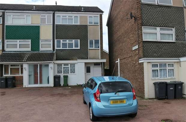 4 Bedrooms End Of Terrace House for sale in Flint Close, Luton, Bedfordshire