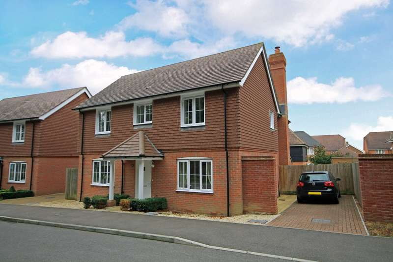 4 Bedrooms Detached House for sale in Oddstones, Pulborough, RH20
