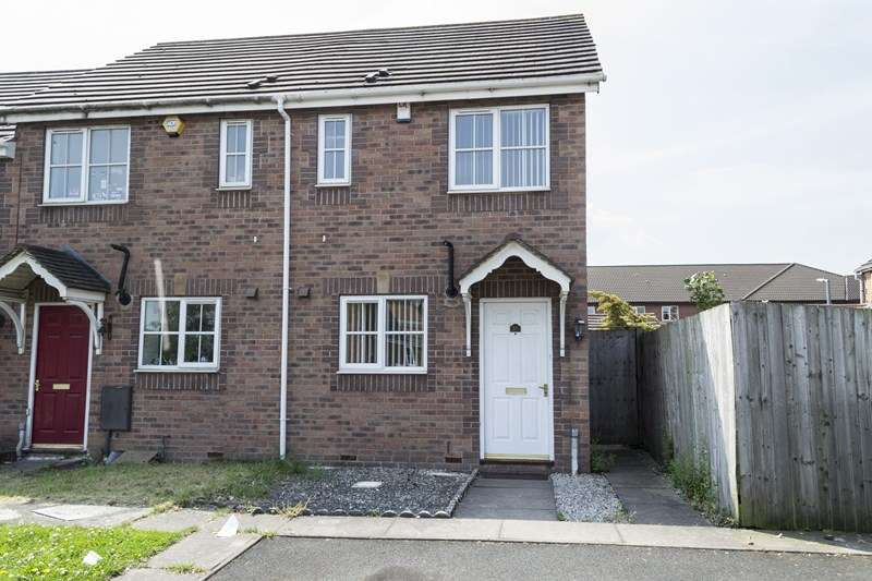 2 Bedrooms End Of Terrace House for sale in Siddons Way, West Bromwich