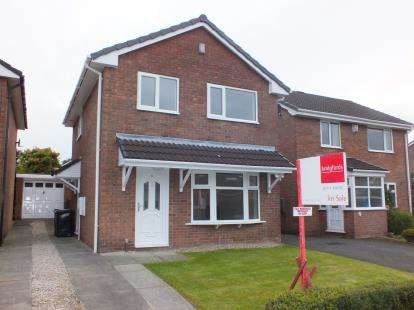 3 Bedrooms Detached House for sale in Whernside Way, Leyland, Preston