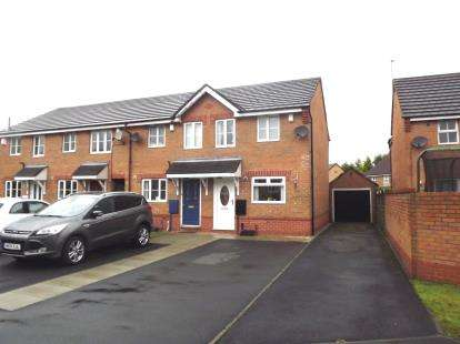 2 Bedrooms Semi Detached House for sale in Pintail Avenue, Bridgehall, Stockport, Cheshire