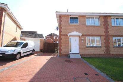 3 Bedrooms Semi Detached House for sale in Glenisla Court, Whitburn