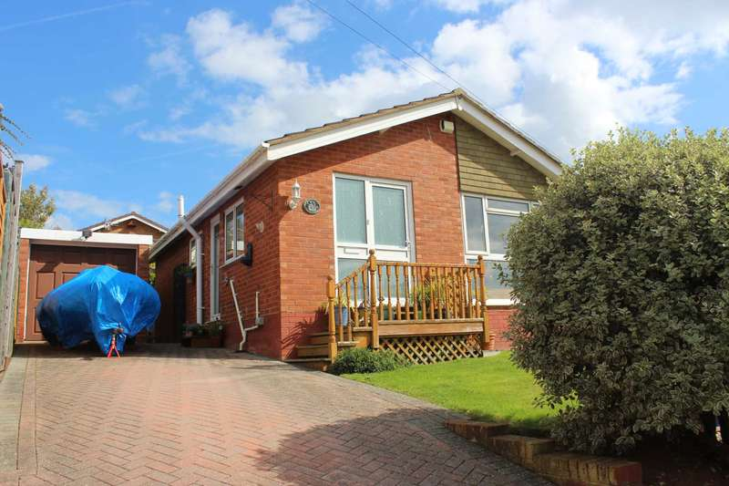 2 Bedrooms Semi Detached Bungalow for sale in Frobisher Road, Exmouth