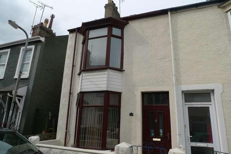 3 Bedrooms Semi Detached House for sale in Taliesin Street, Llandudno