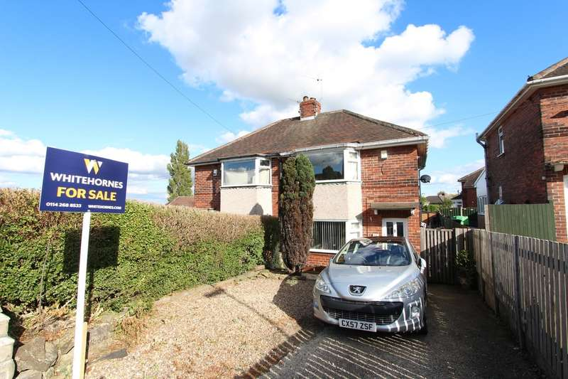 2 Bedrooms Semi Detached House for sale in Hopefield Avenue, Frecheville, S12 4XA