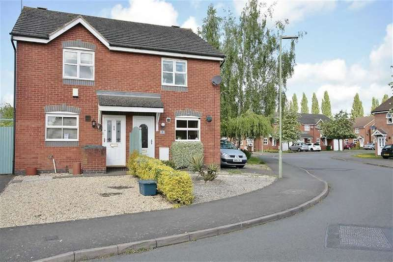 2 Bedrooms Semi Detached House for sale in Wellington Avenue, Banbury, Oxon, OX16