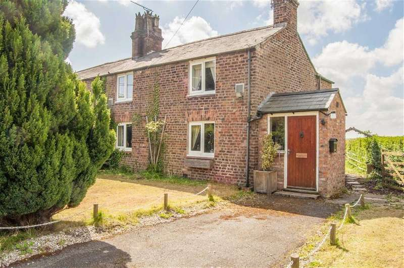 3 Bedrooms Semi Detached House for sale in Moorfield Cottages, Pulford, Chester, Chester