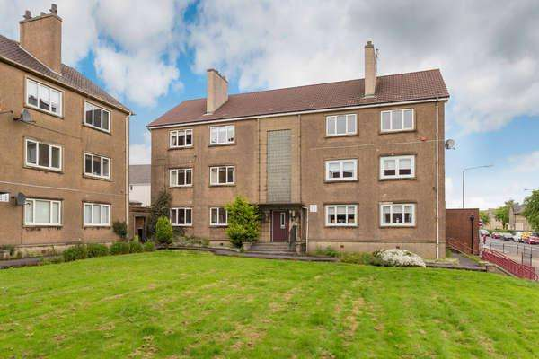 2 Bedrooms Flat for sale in 25C Clark Street, Airdrie, ML6 6DH