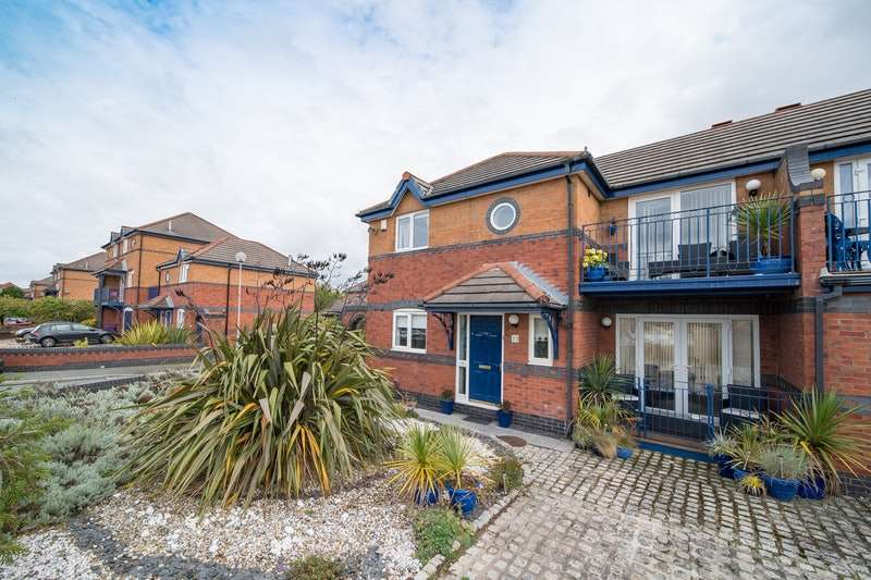 3 Bedrooms Semi Detached House for sale in Navigation Wharf, Liverpool, Merseyside, L3