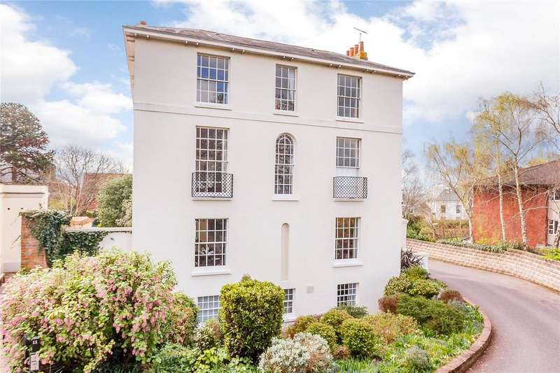 4 Bedrooms Detached House for sale in Baring Crescent, Exeter, Devon