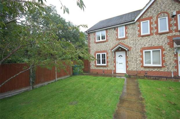 3 Bedrooms End Of Terrace House for sale in Briars Close, Aylesbury, Buckinghamshire