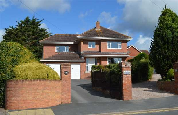 4 Bedrooms Detached House for sale in Douglas Avenue, EXMOUTH, Devon