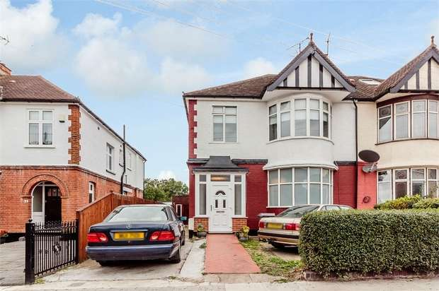 4 Bedrooms Semi Detached House for sale in Robson Avenue, London