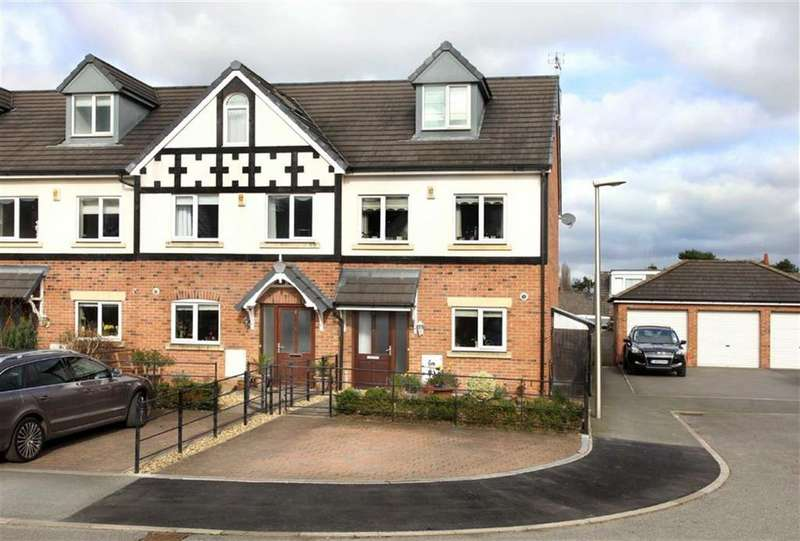 3 Bedrooms Town House for sale in Imperial Court, Nantwich, Cheshire