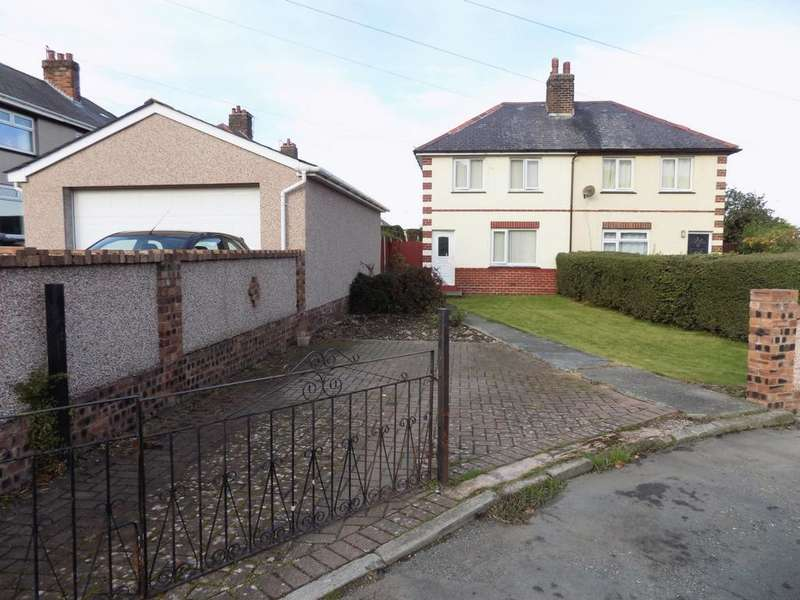 2 Bedrooms Semi Detached House for sale in Groesffordd, Dwygfylchi Penmaenmawr, LL34