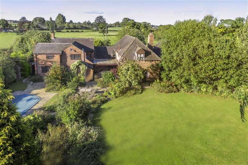 6 Bedrooms Detached House for sale in Chapel End, Buerton Crewe, Cheshire