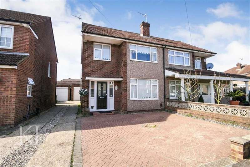 3 Bedrooms Semi Detached House for sale in Palmers Way, Cheshunt
