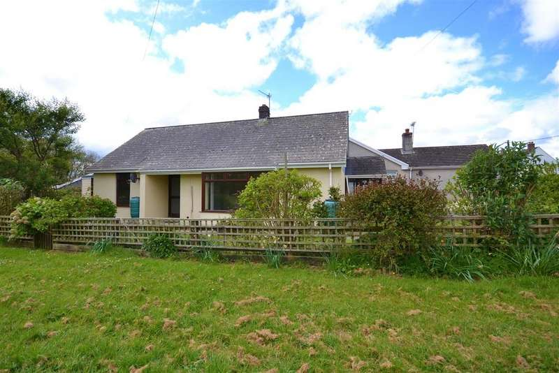 2 Bedrooms Detached Bungalow for sale in Spittal, Haverfordwest