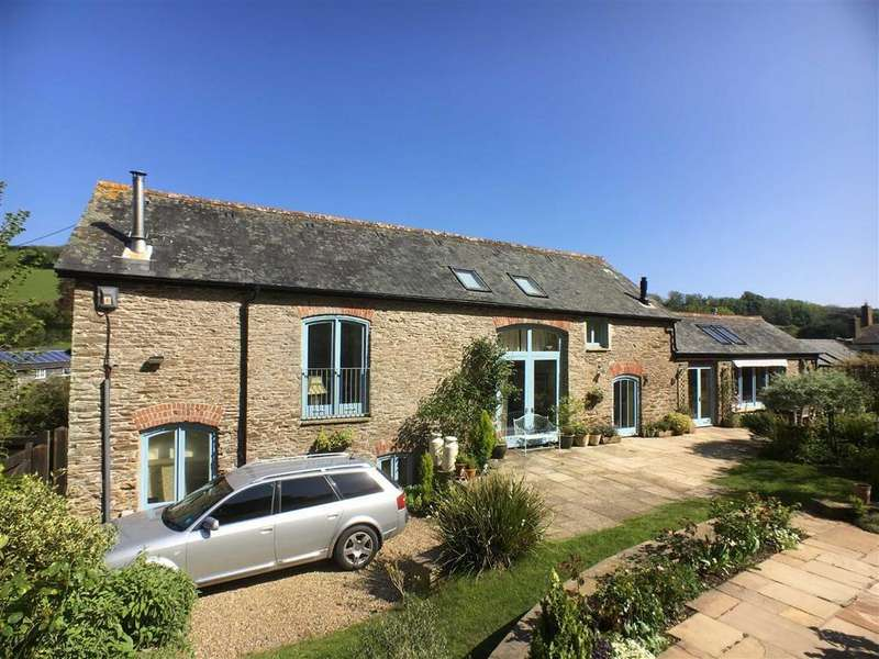 5 Bedrooms Detached House for sale in Washabrook Lane, Kingsbridge, Devon, TQ7