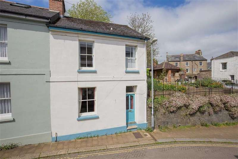 2 Bedrooms Semi Detached House for sale in Leechwell Street, Totnes, Devon, TQ9
