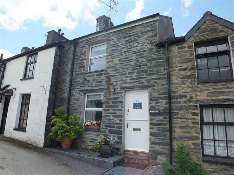 2 Bedrooms Cottage House for sale in Garthfain, Dolwyddelan, Conwy