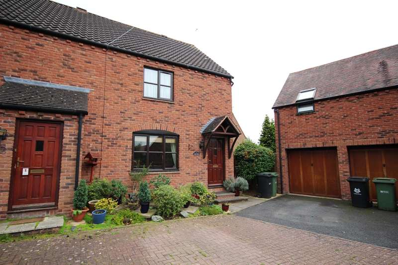3 Bedrooms End Of Terrace House for sale in Great Oaty Gardens, Lyppard Hanford, Worcester, WR4
