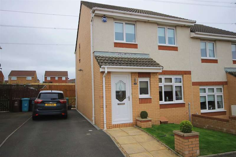 3 Bedrooms Semi Detached House for sale in St Abbs Way, Chapelhall, Airdrie